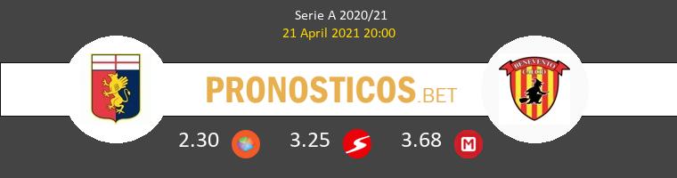 Genoa vs Benevento Pronostico (21 Abr 2021) 1