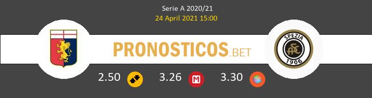 Génova vs Spezia Pronostico (24 Abr 2021) 1