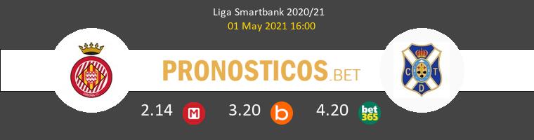 Girona vs Tenerife Pronostico (1 May 2021) 1