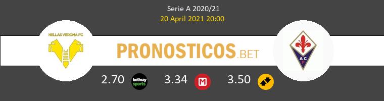 Hellas Verona vs Fiorentina Pronostico (20 Abr 2021) 1