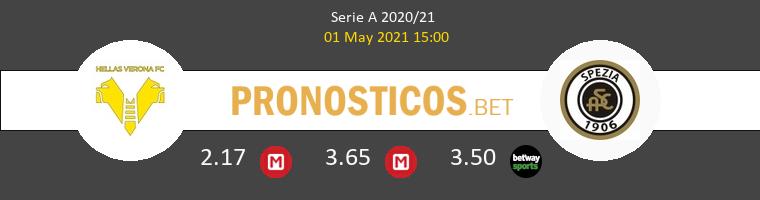 Hellas Verona vs Spezia Pronostico (1 May 2021) 1