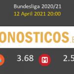 Hoffenheim vs Leverkusen Pronostico (12 Abr 2021) 2
