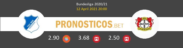 Hoffenheim vs Leverkusen Pronostico (12 Abr 2021) 1