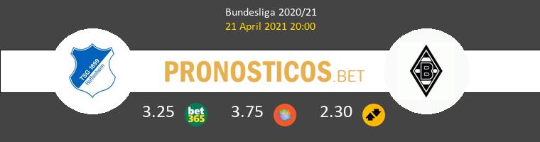 Hoffenheim vs B. Mönchengladbach Pronostico (21 Abr 2021) 1
