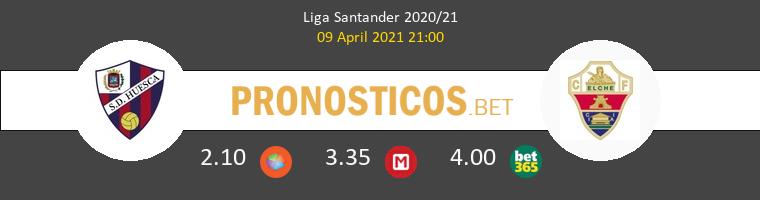 Huesca vs Elche Pronostico (9 Abr 2021) 1
