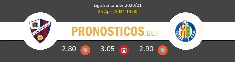 Huesca vs Getafe Pronostico (25 Abr 2021) 1