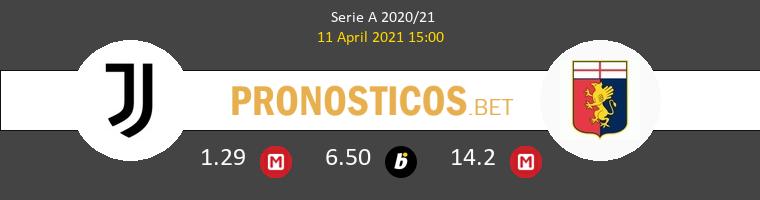 Juventus vs Genoa Pronostico (11 Abr 2021) 1
