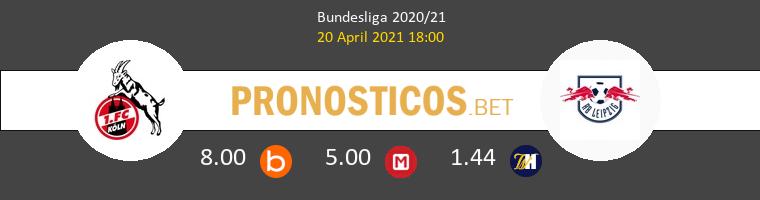 Colonia vs RB Leipzig Pronostico (20 Abr 2021) 1