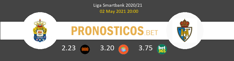 Las Palmas vs Ponferradina Pronostico (2 May 2021) 1