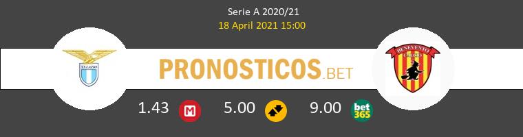 Lazio vs Benevento Pronostico (18 Abr 2021) 1