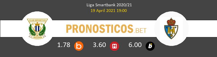 Leganés vs Ponferradina Pronostico (19 Abr 2021) 1