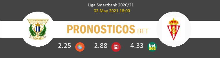 Leganés vs Real Sporting Pronostico (2 May 2021) 1