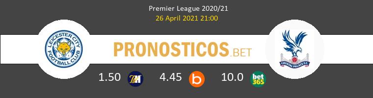 Leicester vs Crystal Palace Pronostico (26 Abr 2021) 1