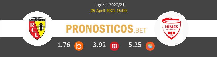 Lens vs Nimes Pronostico (25 Abr 2021) 1