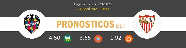 Levante vs Sevilla Pronostico (21 Abr 2021) 1