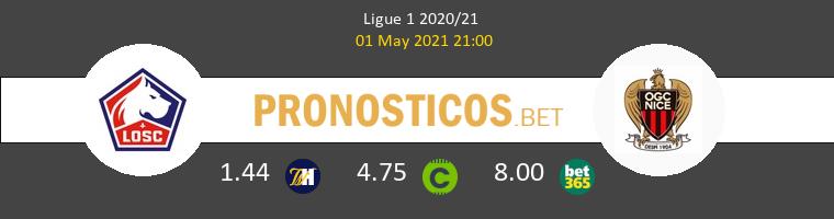 Lille vs Nice Pronostico (1 May 2021) 1