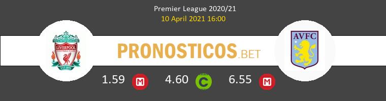 Liverpool vs Aston Villa Pronostico (10 Abr 2021) 1