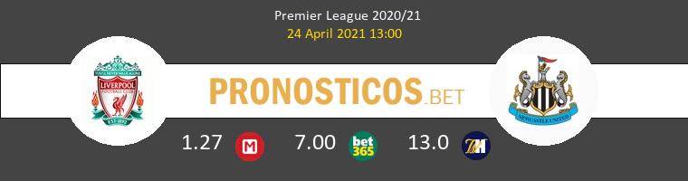 Liverpool vs Newcastle Pronostico (24 Abr 2021) 1