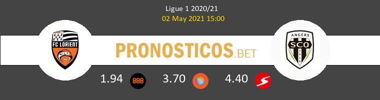 Lorient vs Angers SCO Pronostico (2 May 2021) 1