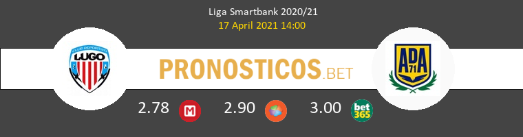 Lugo vs Alcorcón Pronostico (17 Abr 2021) 1