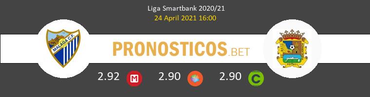 Málaga vs Fuenlabrada Pronostico (24 Abr 2021) 1