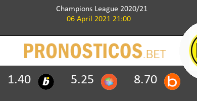 Manchester City vs Dortmund Pronostico (6 Abr 2021) 15