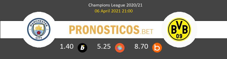 Manchester City vs Dortmund Pronostico (6 Abr 2021) 1