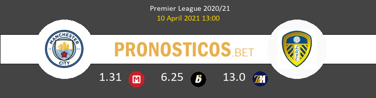 Manchester City vs Leeds United Pronostico (10 Abr 2021) 1