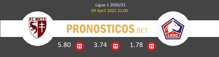 Metz vs Lille Pronostico (9 Abr 2021) 1