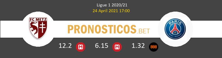 Metz vs PSG Pronostico (24 Abr 2021) 1