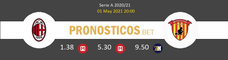 AC Milan vs Benevento Pronostico (1 May 2021) 1