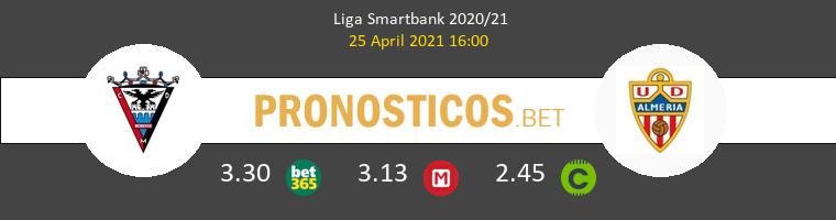Mirandés vs Almería Pronostico (25 Abr 2021) 1