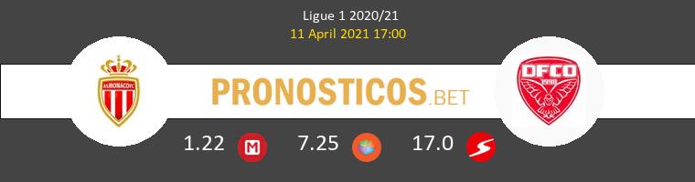 Monaco vs Dijon FCO Pronostico (11 Abr 2021) 1