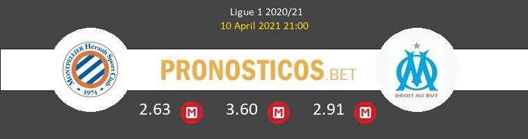 Montpellier vs Marsella Pronostico (10 Abr 2021) 1
