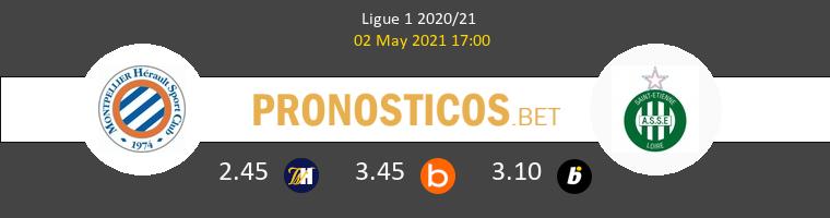 Montpellier vs SaintvÉtienne Pronostico (2 May 2021) 1
