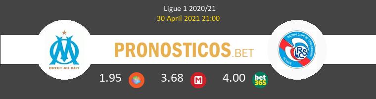 Olympique Marseille vs Strasbourg Pronostico (30 Abr 2021) 1