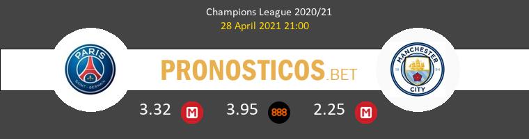 Paris Saint Germain vs Manchester City Pronostico (28 Abr 2021) 1