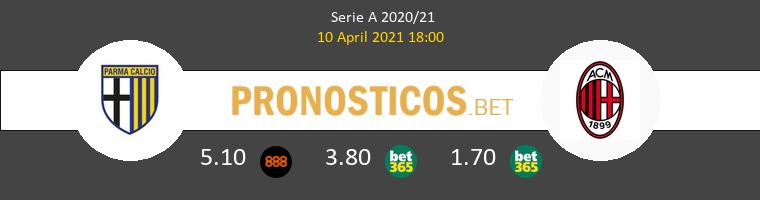 Parma vs AC Milan Pronostico (10 Abr 2021) 1
