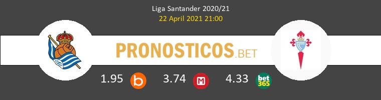 Real Sociedad vs Celta Pronostico (22 Abr 2021) 1