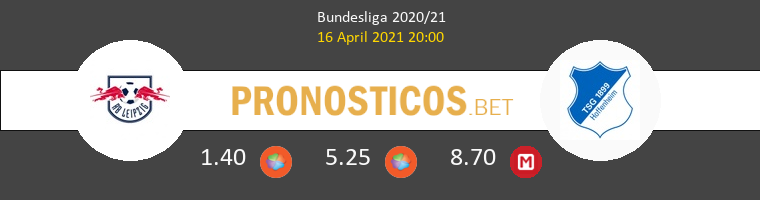 Red Bull Leipzig vs Hoffenheim Pronostico (16 Abr 2021) 1