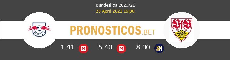 Red Bull Leipzig vs Stuttgart Pronostico (25 Abr 2021) 1
