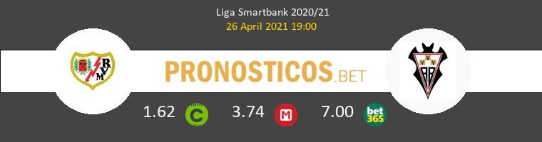 Rayo Vallecano vs Albacete Pronostico (26 Abr 2021) 1