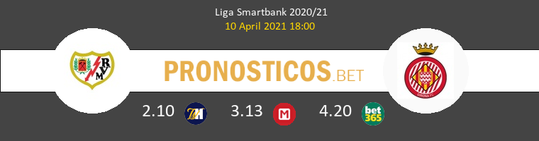 Rayo Vallecano vs Girona Pronostico (10 Abr 2021) 1