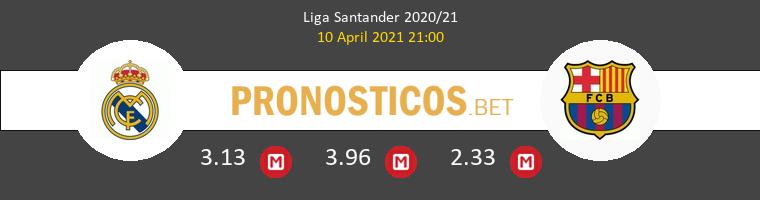 Real Madrid vs Barcelona Pronostico (10 Abr 2021) 1