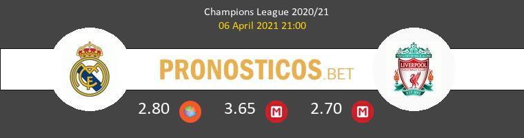 Real Madrid vs Liverpool Pronostico (6 Abr 2021) 1