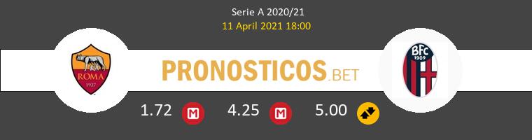 Roma vs Bologna Pronostico (11 Abr 2021) 1
