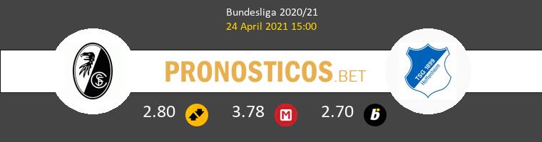 SC Freiburg vs Hoffenheim Pronostico (24 Abr 2021) 1