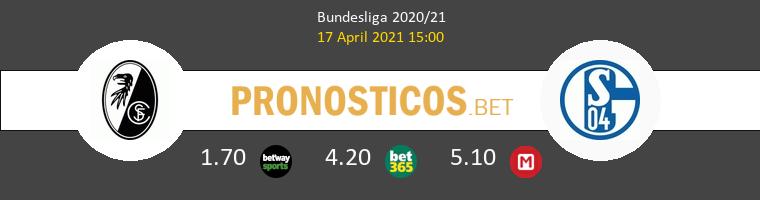 SC Freiburg vs Schalke 04 Pronostico (17 Abr 2021) 1