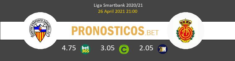 Sabadell vs Mallorca Pronostico (26 Abr 2021) 1
