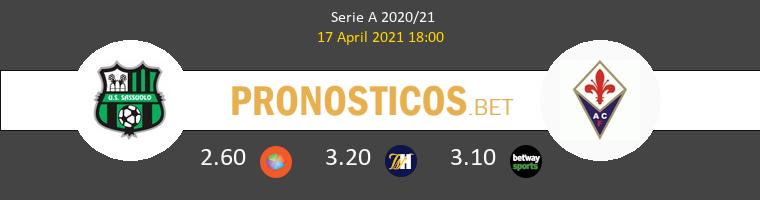 Sassuolo vs Fiorentina Pronostico (17 Abr 2021) 1